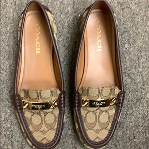 COACH flats. Beautiful!  Excellent condition